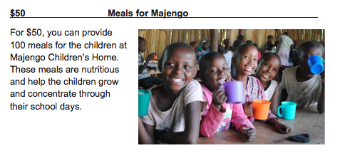 50 Meals for Majengo