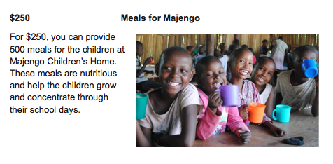 500 Meals for Majengo