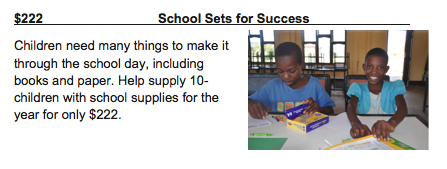 School Sets for Success